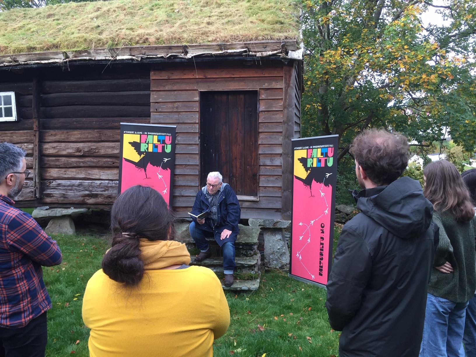 Programslepp på Sunnhordland museum, 5. oktober 2020 Foto Roar Bahlestuen