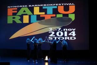 Stord danseensemble på Falturiltufest. Foto Jørn Olav Myhre